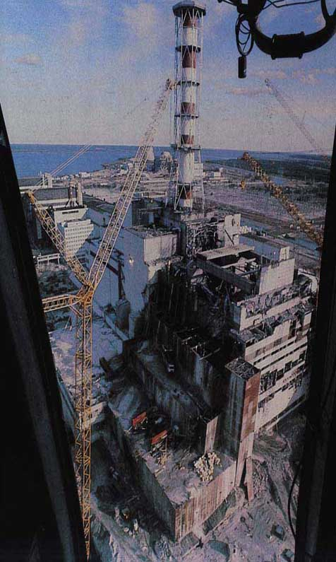 Chernobyl From Helo