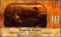 Feast For Crows Westeros Deck